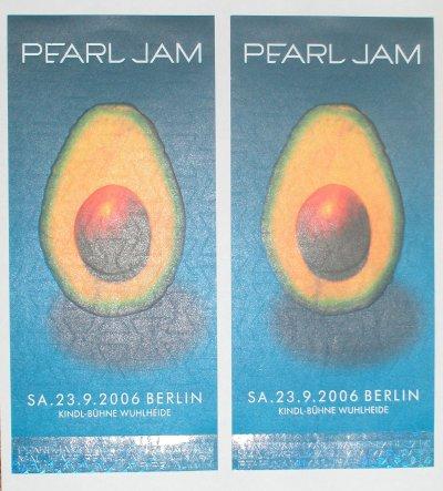 Die Pearl Jam Karten sind da!