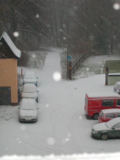 Es gibt doch noch Schnee!