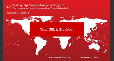 Your URL is blocked!